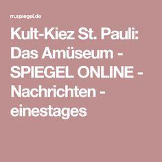 Kult-Kiez St. Pauli: Das Amüseum - SPIEGEL ONLINE - Nachrichten - einestages