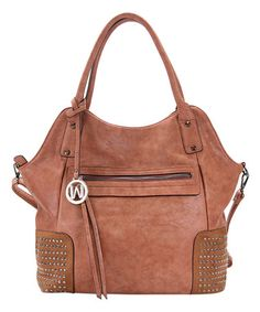 Look at this #zulilyfind! Brown InStyle Tote #zulilyfinds