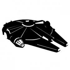 millenium falcon 2 dimenstional vector - Google Search