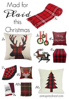 Mad for Plaid This Christmas