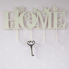 Decorative shabby chic and vintage wall hooks for just a few keys, or for a small hotels worth. Save space and invest in some wall mounted coat hooks. Foam Crafts, Wooden Crafts, Diy And Crafts, Cnc Projects, Laser Cut Wood, Laser Cutting, Scroll Saw Patterns, Vintage Walls, Decorative Accessories
