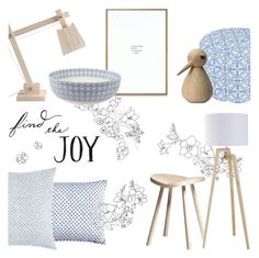 Find the Joy ... of Scandinavian Living by rachaelselina on Polyvore featuring polyvore interior interiors interior design home home decor interior decorating SCP Muuto John Robshaw ArchitectMade