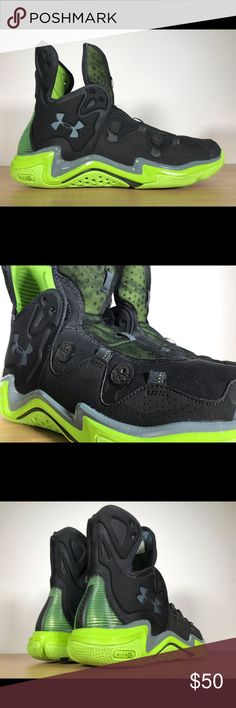 newest 23d89 b0d67 Under Armour UA Micro G Charge Volt Under Armour UA Micro G Charge Volt  Mens Basketball Shoes Size pre-owned, Shoe is in like new condition.