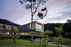 Forest abode: JN House is a gorgeous retreat in Brazil, about an hour and a half from Rio