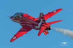 Photo by Bryan Nimmo Military Jets, Military Aircraft, Raf Red Arrows, Airplane Crafts, Aeroplanes, Royal Air Force, Royal Navy, Studio Ghibli, Homeland