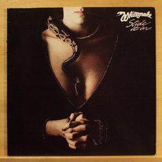 WHITESNAKE Slide it in Vinyl LP Gambler Love ain t no Stranger Give me more Time