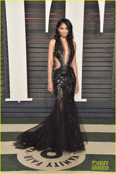 Chanel Iman Vanity Fair Oscar After Party 2016