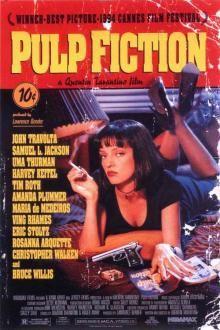 Pulp Fiction (1994) - #movies #PulpFiction #UmaThurman #JohnTravolta #SamuelLJackson #BruceWillis