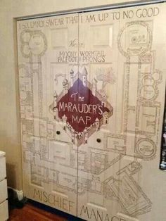 Harry Potter nursery! My mind is made up! When the time comes! Love love love this!