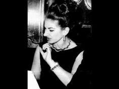"FAKE - FALSO Maria Callas: ""Barcarolle"" Offenbach - YouTube"
