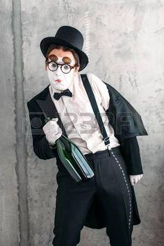 Mime actor performing a drunk man Flightless Bird, Hipster, Actors, Scream, Birds, Hipsters, Bird, Hipster Outfits, Actor