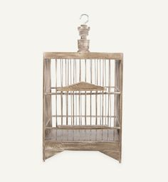 This wooden bird cage has a sculptural quality which makes it useful as an accessory in any room Decor, Room, Wooden, Home Accessories, Cage, Ceiling Lights, Home Decor, Light, Wooden Bird