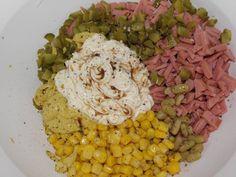 Domácí pochoutkový salát | Recept | Uvařsisám.cz Cobb Salad, Grains, Rice, Food, Meals, Yemek, Laughter, Jim Rice, Eten