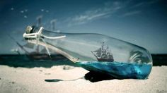 ⊰⛵Ship in a Bottle   .