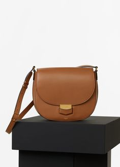 78a858c0e Medium Trotteur Bag in Palmelato Calfskin - Spring / Summer Collection 2016  | CÉLINE Best Handbags