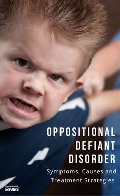 Oppositional Defiant Disorder - #ODD Treatments, Discipline, Parenting
