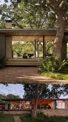 Modern House Design, Modern Architecture House, Architecture Design, Architect Design House, Modern Lake House, Modern Cabins, Modern Prefab Homes, Tropical Architecture, Small Modern Home