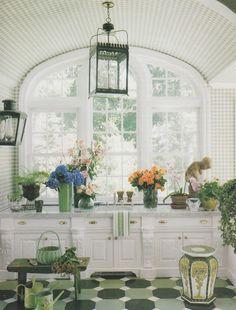 flower room.