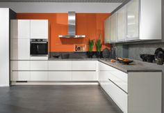 Minimalist kitchens from in-toto kitchens - in-line kitchens