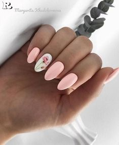 Image about pink in Nails / Nail Polish / Vernis / Manicure by Mouna DramaQueen Spring Nail Art, Nail Designs Spring, Cute Nail Designs, Cute Spring Nails, Gel Nail Art Designs, Spring Design, Cute Acrylic Nails, Cute Nails, My Nails