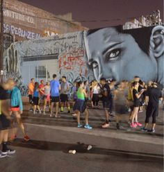 "Finding Your Fast: Running Crews Of LA ... Check out these running ""crews"" taking to the city streets in Los Angeles. What an inspiring way to get fit while connecting with art and community. #InspirationOfTheDay   ... #Running #fitness #run #runningcrew #streetart #cityrun #LA"