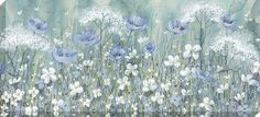 Lavender Daisy Meadow - Canvas Code: AK07529 Artist: Catherine Stephenson Size: 135 x 60cm Type: Canvas