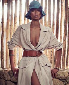 Harper's Bazaar US Março 2015   Anais Mali por Nathaniel Goldberg [Editorial]