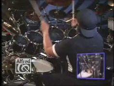 Carter Beauford Double Bass Cymbal Accents - Legendado
