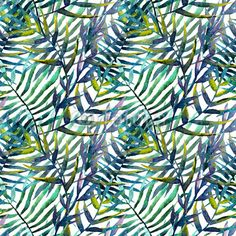 leaves abstract pattern background wallpaper watercolor Washable Wall Mural ✓ Easy Installation ✓ 365 Days to Return ✓ Browse other patterns from this collection! Bamboo Wallpaper, Bold Wallpaper, Watercolor Wallpaper, Watercolor Walls, Watercolor Pattern, Pattern Wallpaper, Abstract Pattern, Watercolor Paintings, Wall Patterns