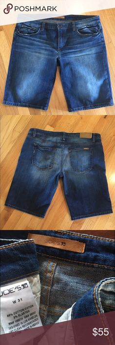 Joe's Relaxed Fit Denim Shorts Joe's Relaxed Fit Denim Shorts   Size 31   Inseam   Rise   Excellent Used Condition   Retail $115   No stains/holes or signs of wear   No trades   Joe's Jeans Shorts Jean Shorts