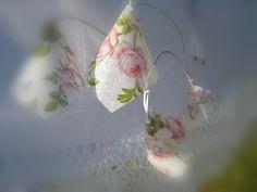 Lichterkette romantische Rosen  shabby chic  von Creativablue auf DaWanda.com
