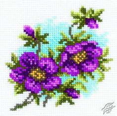 Hellebore - Cross Stitch Kits by RTO - H176