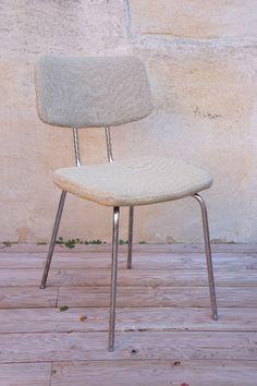 CHAISE TWEED BEIGE : en vente sur le site www.weartgalerie.com