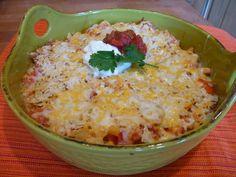 Chicken Nacho Casserole