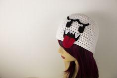Crochet Boo Hat by Ashler-Sauce.deviantart.com on @deviantART