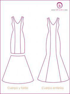 Tipos de trajes de flamenca 1   La Hilandera Mercería y Labores