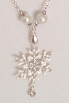 Snowflakes Are Winter's Butterflies by JewelryWithSpirit on Etsy