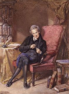 Wilberforce (24 August 1759 – 29 July 1833) by George Richmond, 1833. An English politician, philanthropist, and a leader of the movement to abolish the slave trade. He began his political career in 1780, & was MP for Yorkshire (1784–1812). In 1785, he underwent a conversion experience and became an evangelical Christian. One of the leading English abolitionists, he headed the parliamentary campaign against the British slave trade for 26yrs until the passage of the Slave Trade Act of 1807.