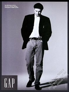 1993 Gregory Mosher photo The Gap fashion clothes store vintage print ad | eBay