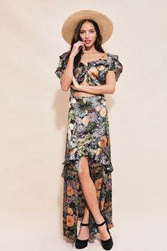 8bfc5883b09 LUCIANA MAXI DRESS – For Love   Lemons Tulip Sleeve