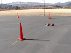 students dribble basketballs through cones in a relay. Basketball Games, Students, Basketball Plays