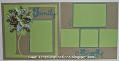 cricut wedding layouts | all cut from the Cricut Close To My Heart Artbooking Cartridge pages ...