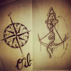 tumblr compass tattoo | Repin Like Comment