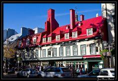 Dans les rues de Québec par Jean-Marie Chassot
