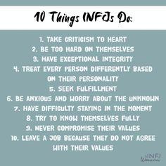 Likes, 92 Comments - Sarah Kuhn Infj Traits, Infj Mbti, Intj And Infj, Enfj, Infj Personality, Myers Briggs Personality Types, Advocate Personality Type, Infj Love, Infj Problems
