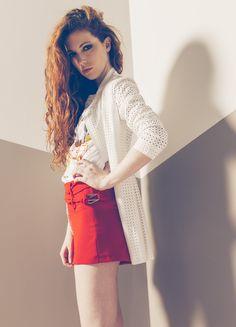 Produzione e vendita pronto moda donna  collezione spring e summer 2016. #anycase #pantaloncini #short #prontomoda #white #t-shirt