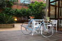 bares y restaurante con bici