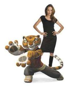 Angelina Jolie as Tigress.Kung Fu Panda
