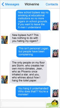 Texts From Superheroes: Photo Funny Marvel Memes, Dc Memes, Avengers Memes, Marvel Jokes, Marvel Dc Comics, Whatsapp Funny Pictures, Superhero Texts, Comic Text, Funny Video Clips