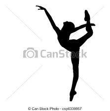 silueta de bailarina de ballet  Buscar con Google  Acuarela
